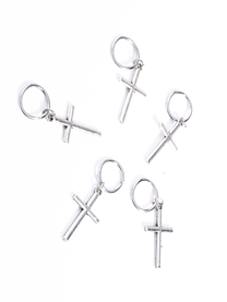 Blessing Cross Hair Ring