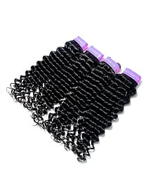 8A Virgin Brazilian Hair Kinky Curly Hair Weaving