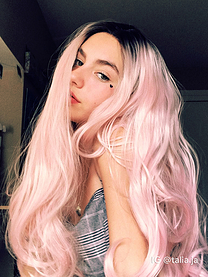 Sakura Synthetic lace front wig