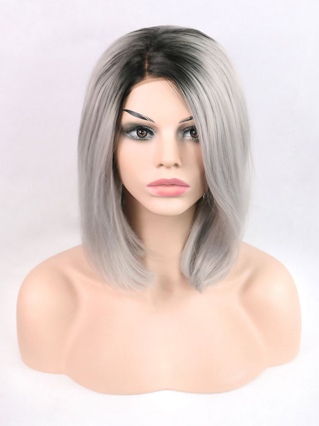 Luna Synthetic lace front wig