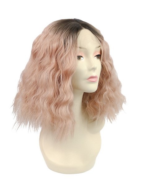 Candyfloss Synthetic lace front wig