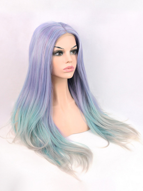 Unicorn Ombre Synthetic lace front wig