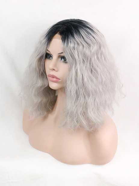 Shaun Synthetic lace front wig