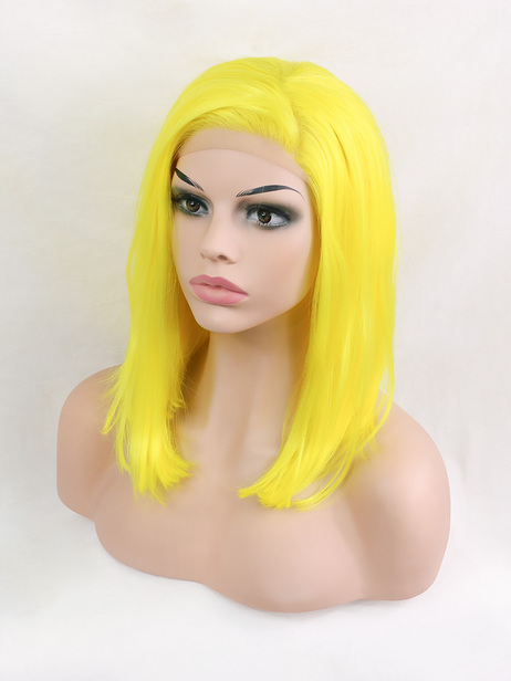 Lemon Synthetic lace front wig