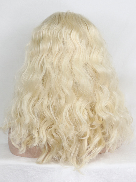 Momsen Synthetic lace front wig