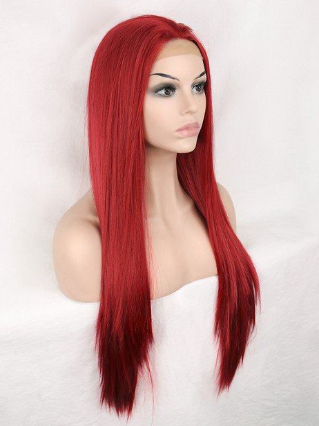 Velvet Synthetic lace front wig