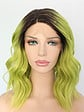 Mildiso Synthetic lace front wig