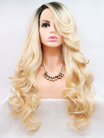 Clara Synthetic lace front wig