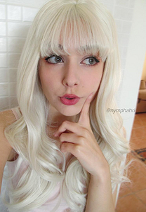 Hilary Synthetic lace front wig
