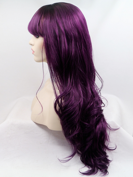 Lilith Synthetic lace front wig