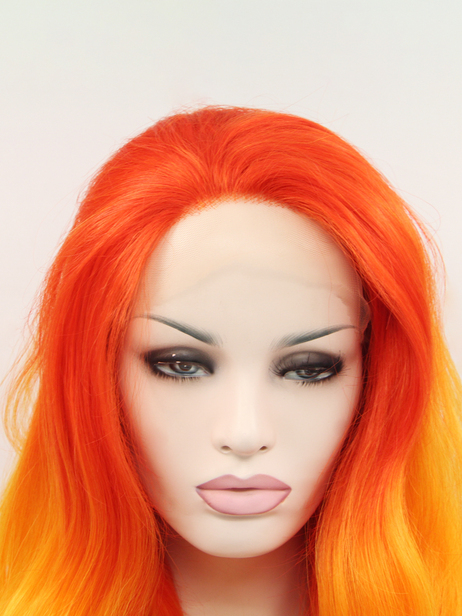 Flame Synthetic lace front wig