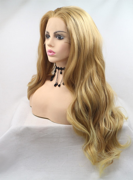 ST0115  Synthetic Lace Front Wig