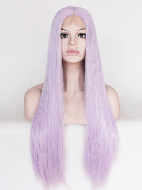 Lilac Synthetic Lace Front Wig