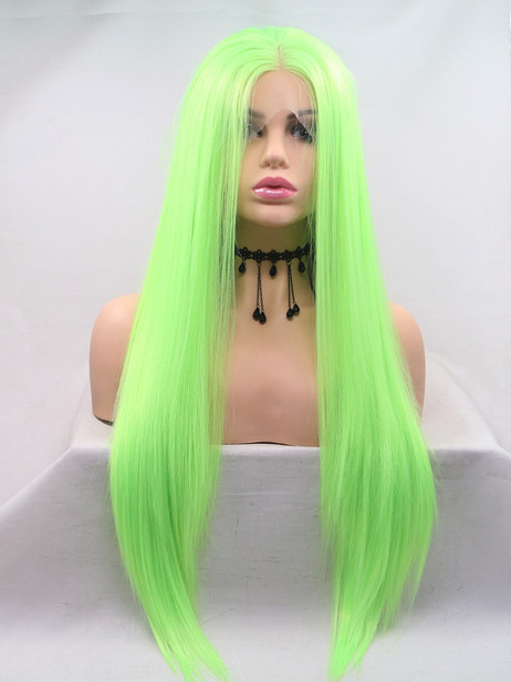 Toxic Synthetic lace front wig