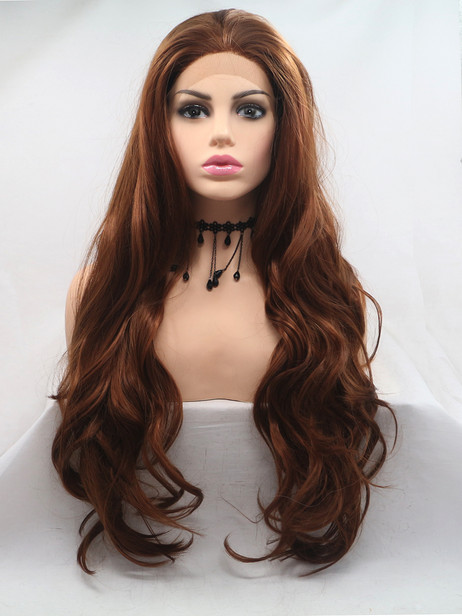 Chocolate love Synthetic lace front wig