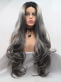 ST0085 Synthetic lace front wig