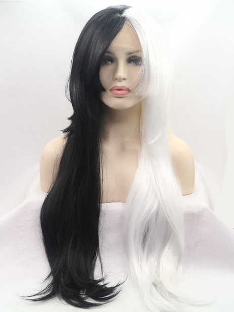 Curella Synthetic lace front wig
