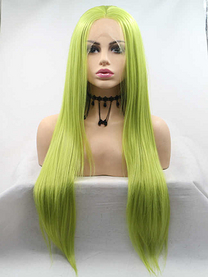 Avocado Synthetic lace front wig