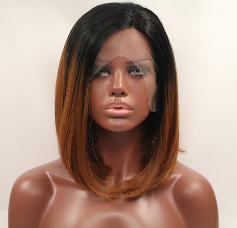 ST0108 Synthetic lace front wig