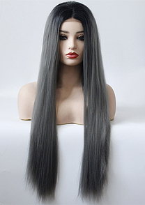 ST0118   Synthetic lace front wig