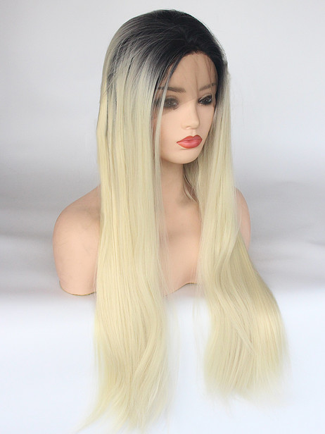 ST0123 Synthetic lace front wig