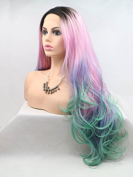 Dazzler synthetic lace front wig
